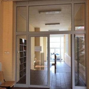 Hliníková okna a dveře
