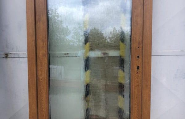 Vchodové dvere -zlatý dub /zlatý dub – otevírání ven